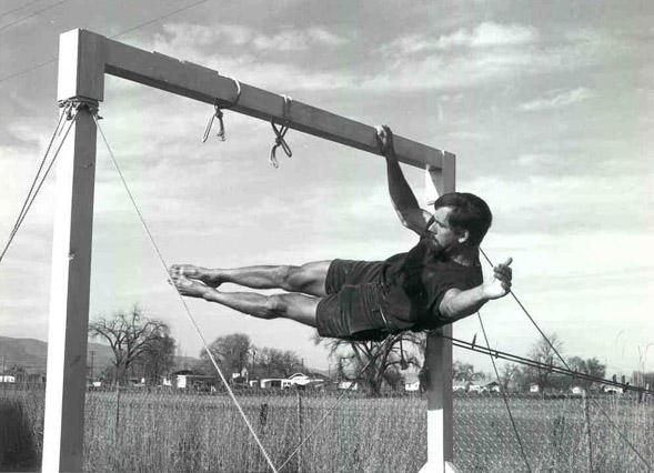 John Gill bouldering