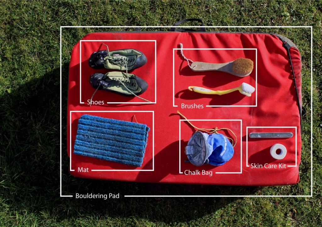 Bouldering gear