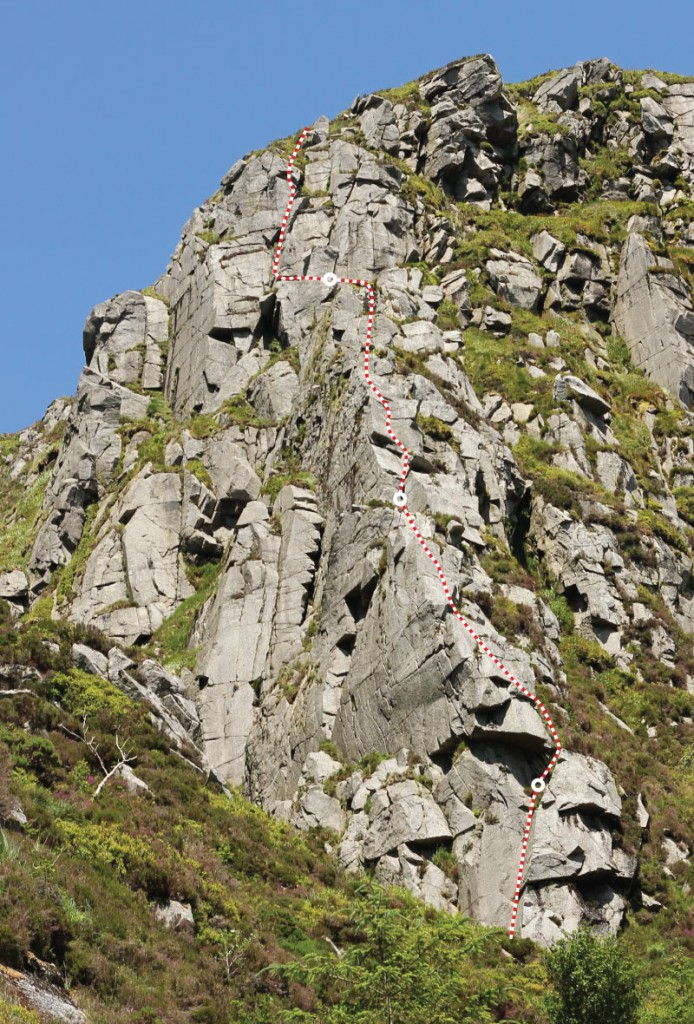 Glenmalure-topo-GreatGully-single