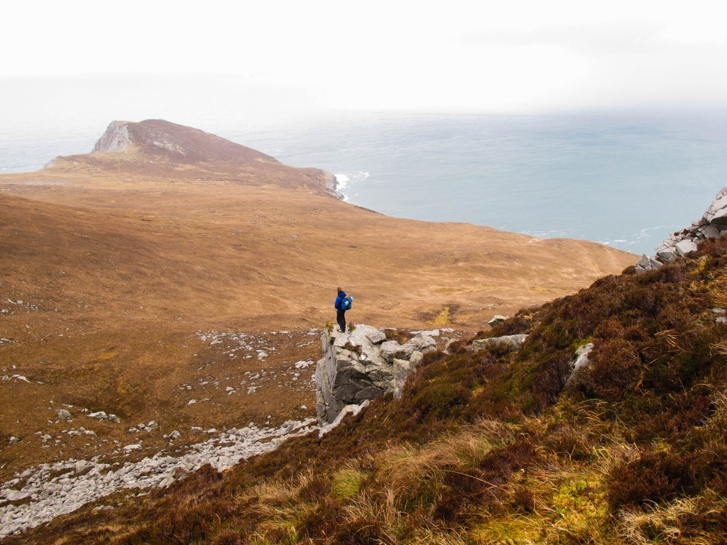 Looking towards Saddle Head, Achill Island, Mayo.