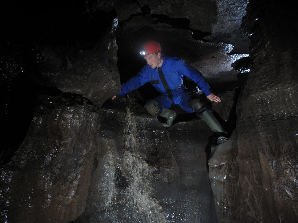 Burren Caving - PHOTO BY TERRY CASSERLY